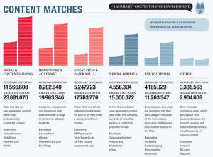 plagiarism stats
