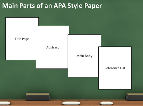 parts of research paper apa style Get rid of apa formatting now and order an essay or research paper from problems with apa style papers try our samples apa as integral parts of college.